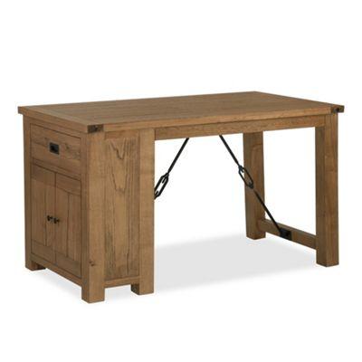 Industrial Oak Gathering Table - Sideboard