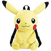 Pikachu Plush Character Backpack