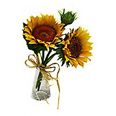 Artificial - Sunflower Susan Bundle - Yellow
