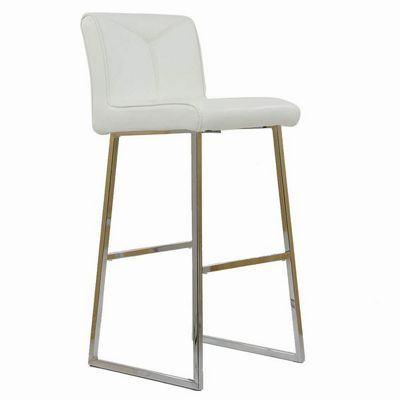 Monaco Bar Stool White