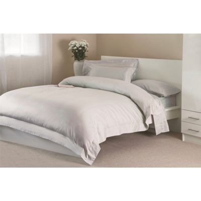 Belledorm 100% Egyptian Cotton 12 Inch Deep Fitted Platinum Sheet - Double