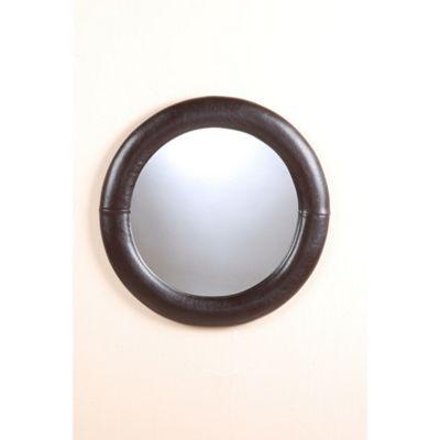 Heartlands Furniture Odessa Round Mirror - Black