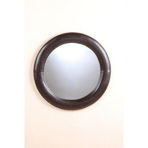 Heartlands Furniture Odessa Round Mirror - Black