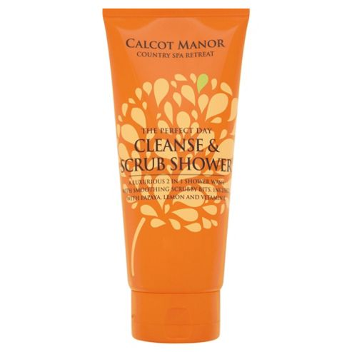 Calcot Manor  The Perfect Day Cleanse & Scrub Shower