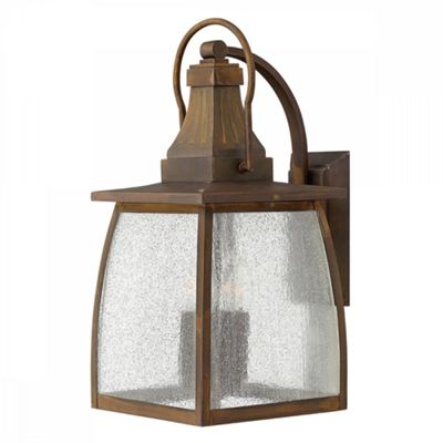 Sienna 2lt Large Wall Lantern - 4 x 60W E14