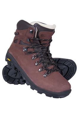 Mountain Warehouse Excalibur Mens Leather Waterproof Boots ( Size: Adult 07 )