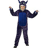Monster Children's Costume - Purple & Multi