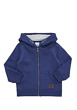 F&F Zip-Through Hoodie - Navy