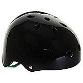 Slamm Sticker Skate Helmet - Black - S-M (53-56cm)