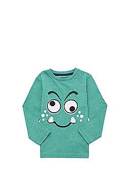 F&F Interactive Monster Eyes Long Sleeve T-Shirt - Green