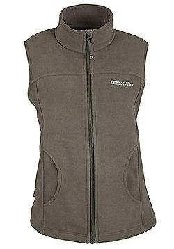 Womens Auckland Fleece Gilet Bodywarmer Top Body Warmer - Brown