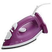 Tesco Steam Iron IR2016, 2000W - Purple & White