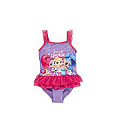Nickelodeon Shimmer and Shine Swimsuit - Purple & Pink