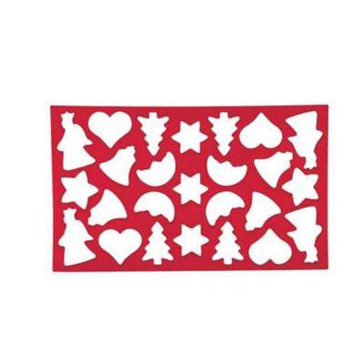 Dexam Christmas Cookie Cutter Sheet