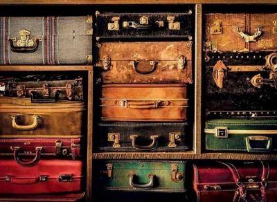 Travel Suitcases - 1000pc Puzzle