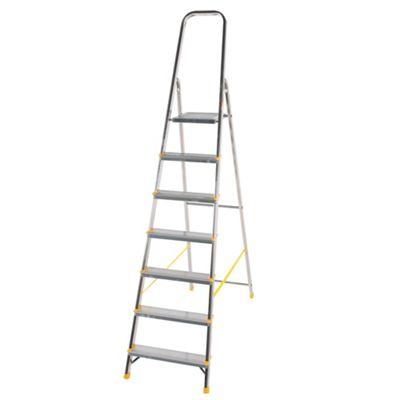 DIY 7 Tread Platform Step Ladder