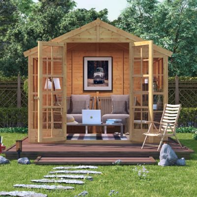 BillyOh Harper Tongue and Groove 4x8 T&G Apex Summerhouse