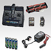 Radio Control Car Radio Gear & Battery Combo - Mid Level