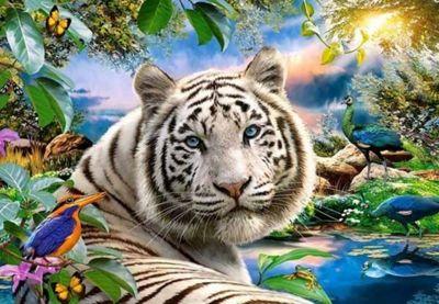 Twilight Tiger - 1500pc Puzzle