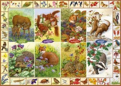 Seasonal Wildlife - 1000pc Puzzle