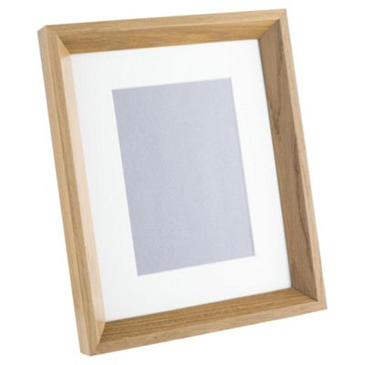 Buy Tesco Solid Oak Photo Frame 8 x 10\