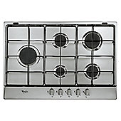 Whirlpool AKR315IX/01 Built In Gas Hob in Stainless Steel 5 gas burners