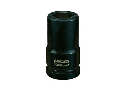 Teng Tools Deep Impact Socket Hexagon 6 Point 3/4in Drive 30mm