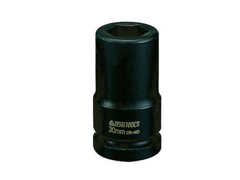 Teng Tools Deep Impact Socket Hexagon 6 Point 3/4in Drive 30mm