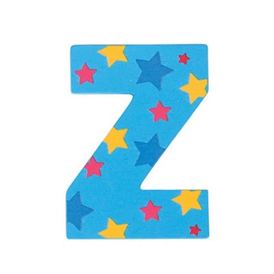 Bigjigs Toys Star Letter Z (Blue)