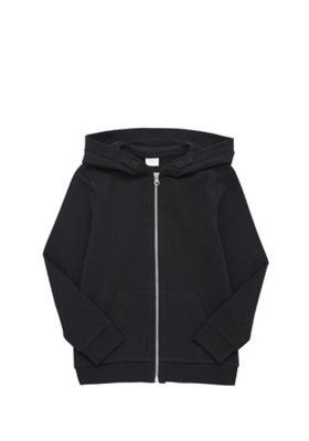 F&F Black Zip-Through Hoodie Black 5-6 years