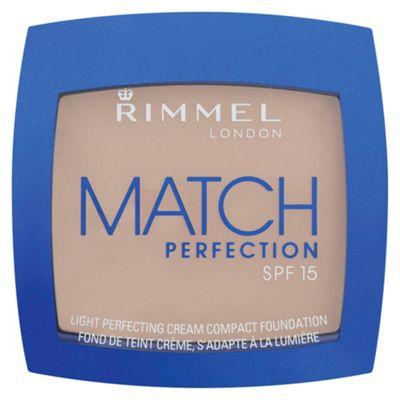 Rimmel MATCH PERFECTION CREAM COMPACT - LIGHT PORCELAIN