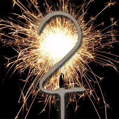 7' Number 2 Sparkler