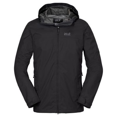 Jack Wolfskin Mens Arroyo Jacket Black XL