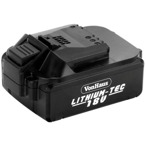 VonHaus Li-ion 18V Battery for VonHaus Cordless Drill