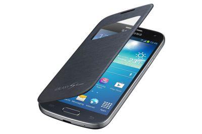 Samsung Original Galaxy S4 Mini S View Cover - Black