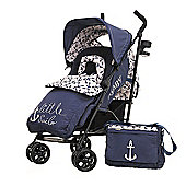 Obaby Zeal Stroller Bundle with Safety Mosquito Net - Little Sailor