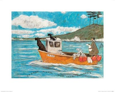 Sam Toft Dogger, Fisher, Light Vessel Automatic Print