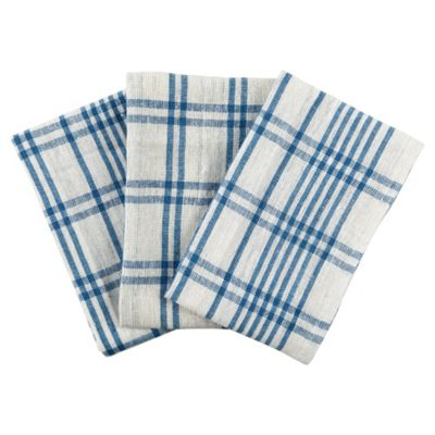 Tesco Value Tea Towel 3pk