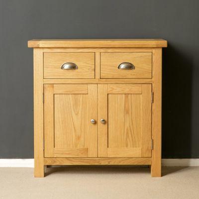 Truro Oak Sideboard - Mini Sideboard - Oiled Oak