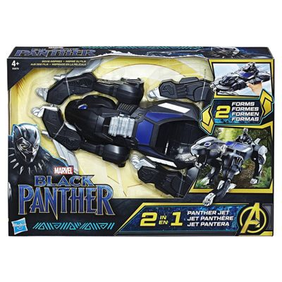 Marvel Black Panther Hero 2 IN 1 Vehicle Children Toy Fun Play Brand New