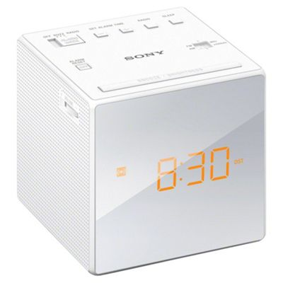 Sony ICF-C1 AM/FM Clock Radio - White
