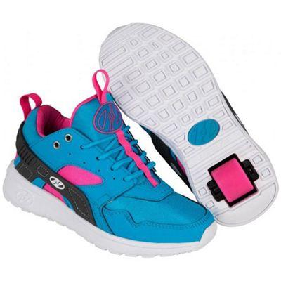 Heelys Force Aqua/Grey/Pink Heely Shoe UK 3