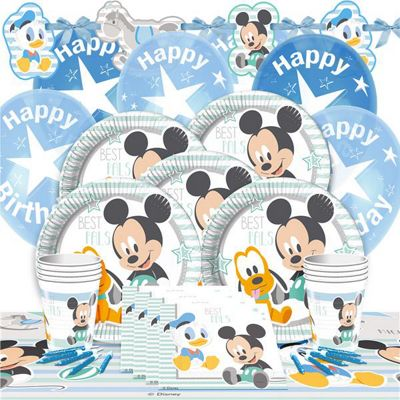 Baby Mickey Party Pack - Deluxe Pack for 8
