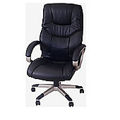 Homcom Computer Office Chair Adjustable-Black