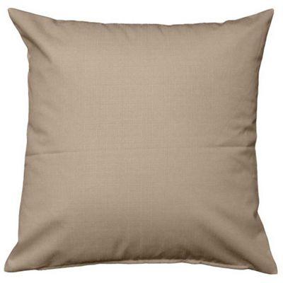 Homescapes Latte Linen Look Cushion Cover - 45 x 45 cm