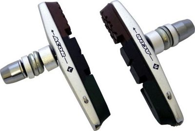 Acor Cartridge V-Brake Pads: Silver/Triple Compound