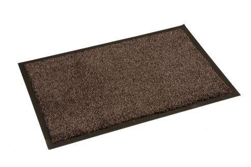 Dandy Washamat Dark Brown Mat - 90cm x 120cm