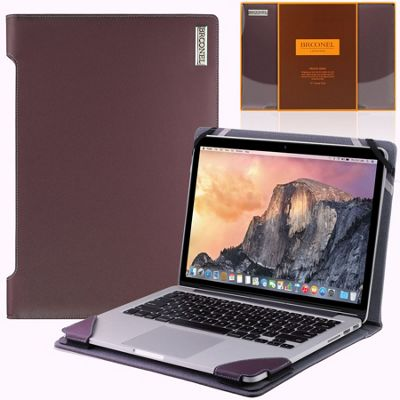 Broonel - Profile Series - Blue Luxury Vegan Leather Laptop Case For the Apple Macbook Pro 15 inch (fits all generations)