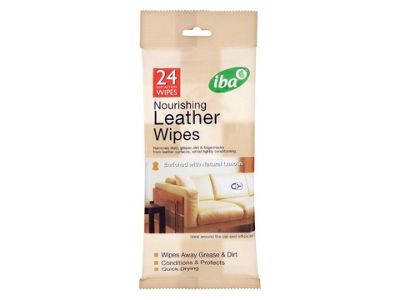 Iba 0221 Leather Wipes X24