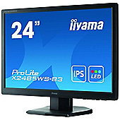 iiyama 24.1 ProLite X2485WS-B3 24 LED backlit LCD Screen Featuring IPS Technology